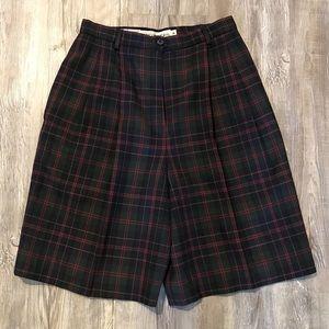 ✨ Vintage High Waist Long Wool Shorts